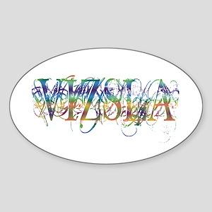 Vizsla Sticker (Oval)