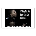 The Hunted Sticker (Rectangle 50 pk)