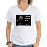 The Hunted Women's V-Neck T-Shirt
