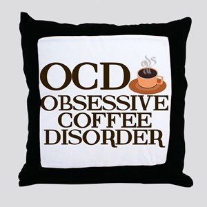Funny Coffee Throw Pillow