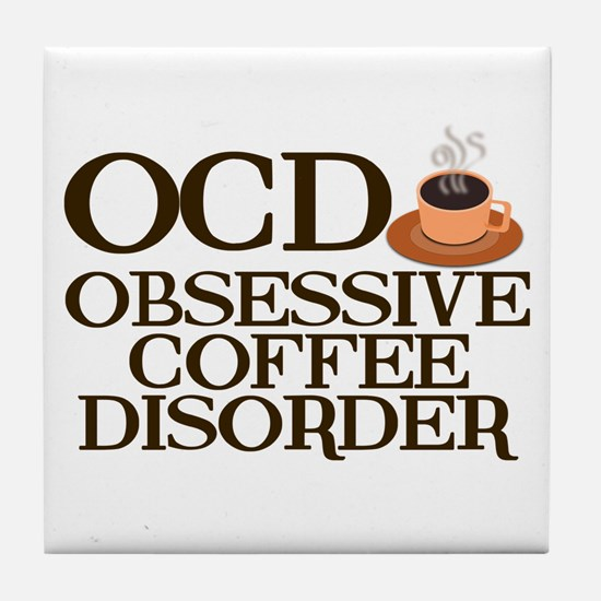 Funny Coffee Tile Coaster
