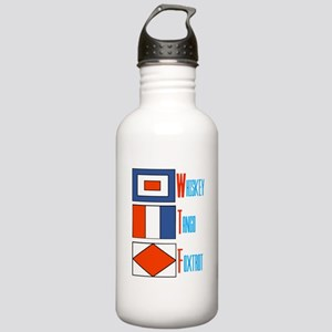 WTF Signal Flags Stainless Water Bottle 1.0L