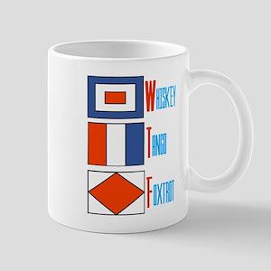 WTF Signal Flags Mug