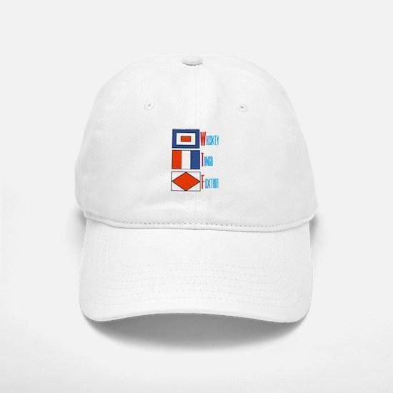 WTF Signal Flags Baseball Baseball Cap