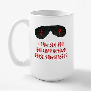 Funny Poker Large Mug