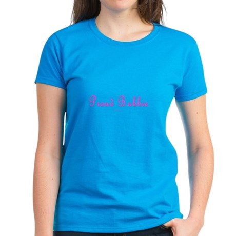 Proud Bubbie Jewish Women's Dark T-Shirt