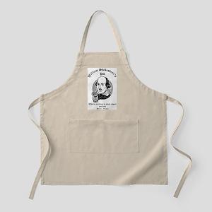 William Shakesbeer's Pub: Par Apron