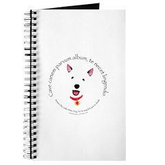 Beware The Little White Dog Journal