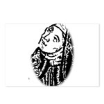 Hildegard Self Portrait Postcards (Package of 8)