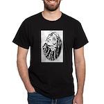 Hildegard Self Portrait Dark T-Shirt