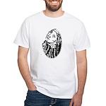 Hildegard Self Portrait White T-Shirt