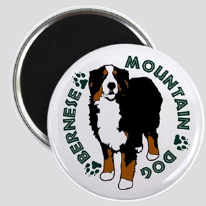Standing Bernese Mountain Dog Magnet