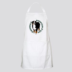Standing Bernese Mountain Dog Apron