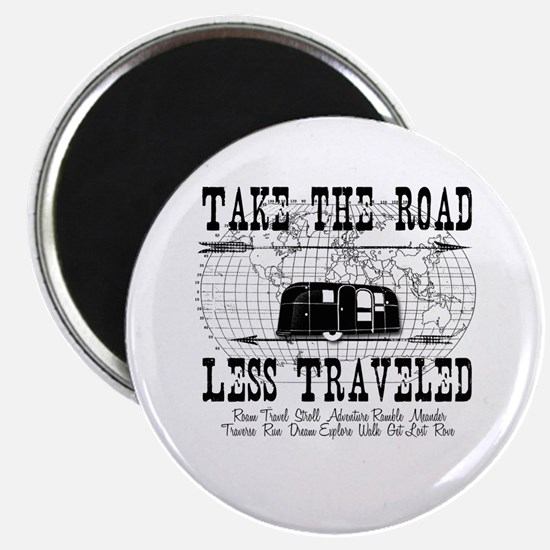 Road Less Traveled Magnet