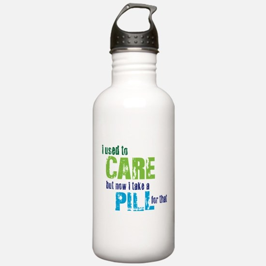Care Pill Sports Water Bottle