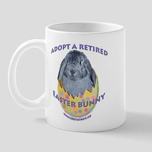 Adopt a Retired Easter Bunny Mug