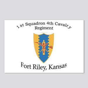 1st Squadron 4th Cavalry Postcards (Package of 8)