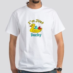 I'm Just Ducky White T-Shirt