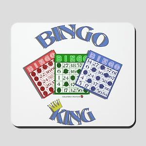 Bingo King Mousepad