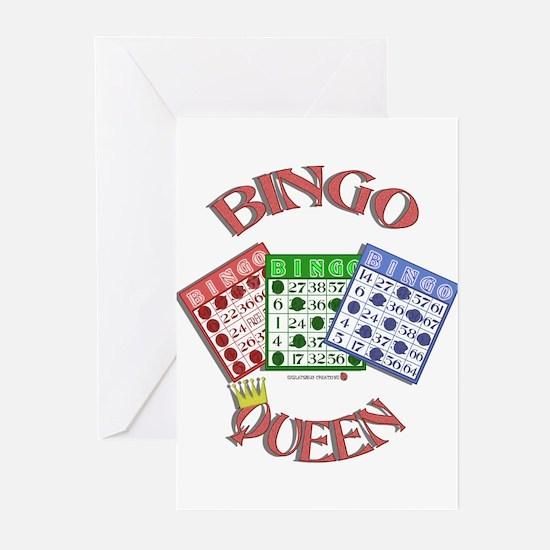 Bingo Queen Greeting Cards (Pk of 10)