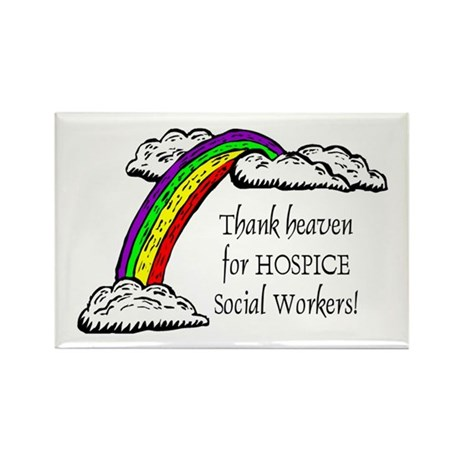 Thank Heaven Hospice Rectangle Magnets (10 pack)