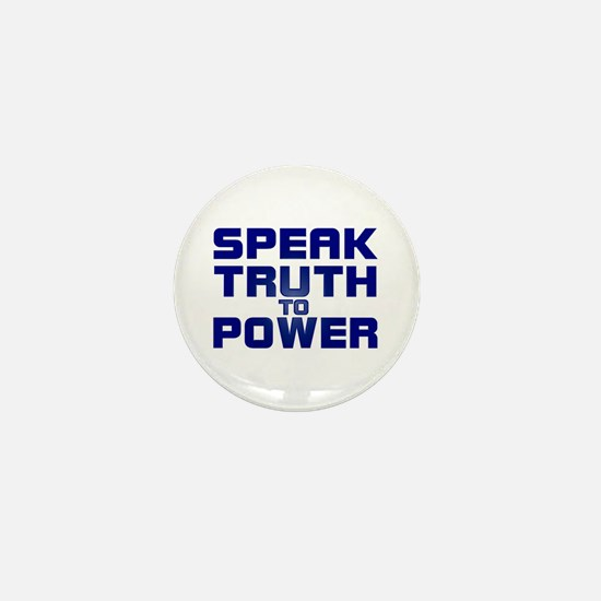 SPEAK TRUTH TO POWER Mini Button