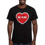 Be Mine Men's Fitted T-Shirt (dark)