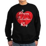 Happy Valentines Day Sweatshirt (dark)