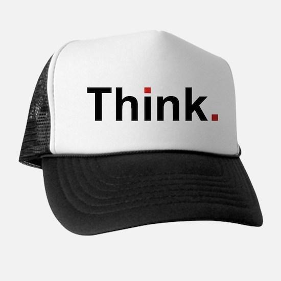 Cute Thinking Trucker Hat
