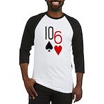 10s 6h Poker Hand Baseball Jersey