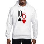 10s 6h Poker Hand Hooded Sweatshirt