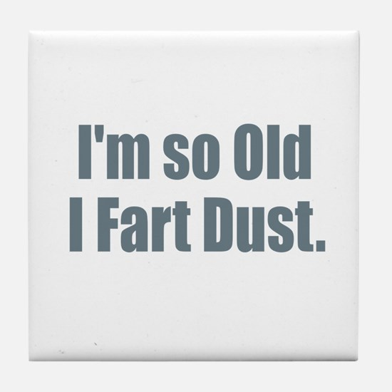 Fart Dust Tile Coaster