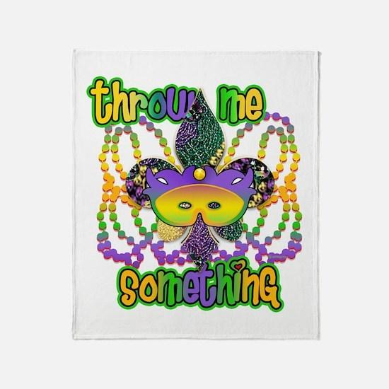 Throw Me Something Fleur Throw Blanket