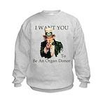 I want You Kids Sweatshirt