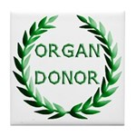 Organ Donor Tile Coaster