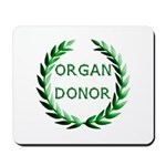 Organ Donor Mousepad