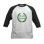 Organ Donor Kids Baseball Jersey