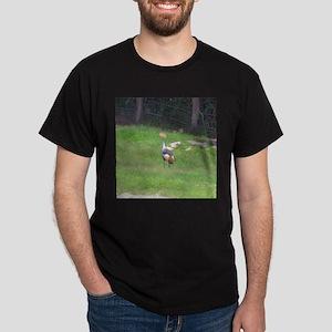 crowned crane Dark T-Shirt