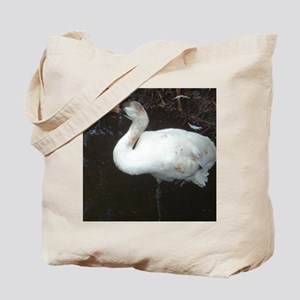 whooping crane 3 Tote Bag