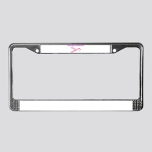 Support Breast Cancer Researc License Plate Frame