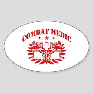 Combat Medic Sticker (Oval)