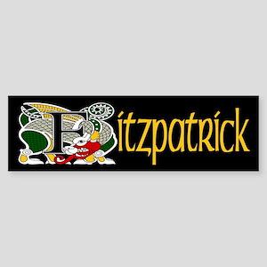 Fitzpatrick Celtic Dragon Bumper Sticker