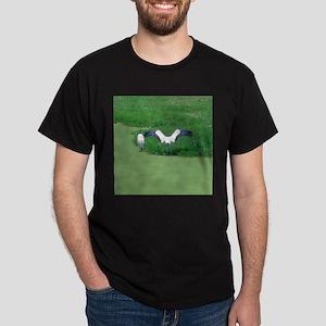 sunning cranes Dark T-Shirt