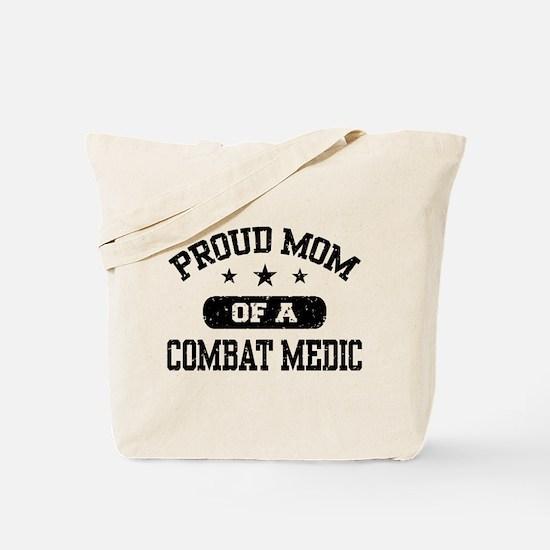 Proud Combat Medic Mom Tote Bag