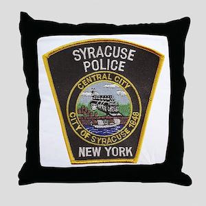 Syracuse Police Department Throw Pillow