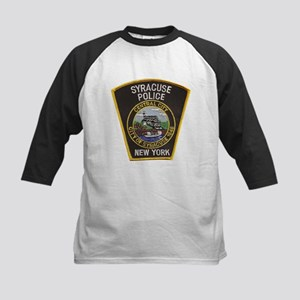 Syracuse Police Department Kids Baseball Jersey