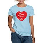 Happy Valentines Day Women's Light T-Shirt