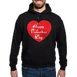 Happy Valentines Day Hoodie (dark)