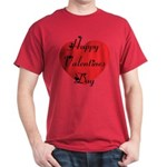 Happy Valentines Day Dark T-Shirt