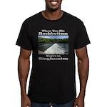 Rockbottom Dam Men's Fitted T-Shirt (dark)